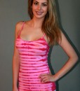 Yoga Cami - Pink Tie-dye
