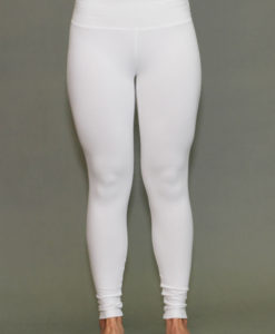 Organic Cotton Yoga Legging - Kundalini White