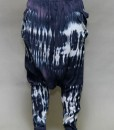 Tie-Dye Gauze Harem Yogini Pant - Navy