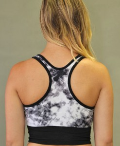 Tie-dye Yoga Crop Top Bra