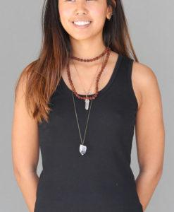 100% Cotton Yoga Specific Fit Tank - Blackby Blue Lotus Yogawear
