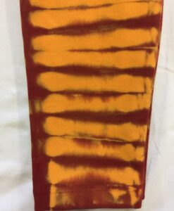 Bengal Tiger Tie Dye Ankle Length Yoga Legging- Inner Fire