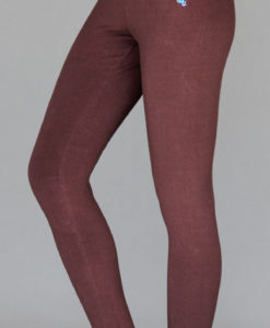 Organic Cotton Yoga Legging - Chocolate