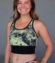 Print Yoga Tankini - Lime/ Black by Blue Lotus Yogawear