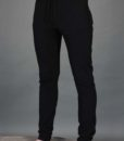 Men's Organic Cotton 4-Way Stretch Yoga Pant -Black by Blue Lotus Yogawear. Pre-Shrunk, Easy Care, Made in USA
