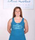 Lotus Motif Yoga Tank Top - Teal by Blue Lotus Yogawear