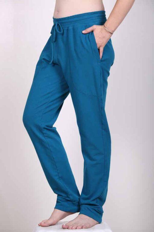 Organic Cotton Elastic Waist Sweat Pant by Blue Lotus Yogawear