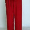 Raw Silk Capri Length Lounge Pant by Blue Lotus Yogawear