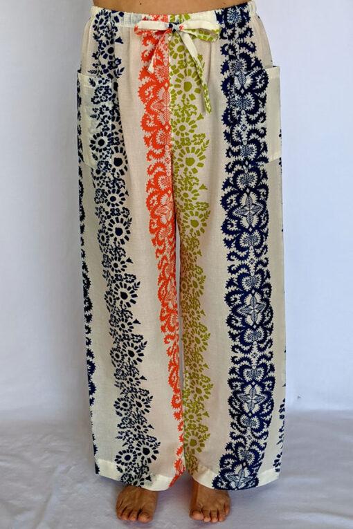 Breezy Cotton Print Lounge Pant by Blue Lotus Yogawear